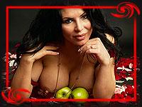 Ирэн Феррари - обладательница самого  большого бюста в России
